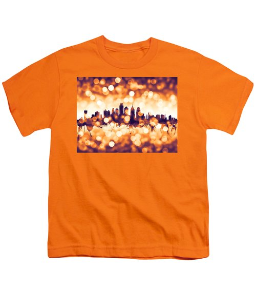 Philadelphia Pennsylvania Skyline Youth T-Shirt