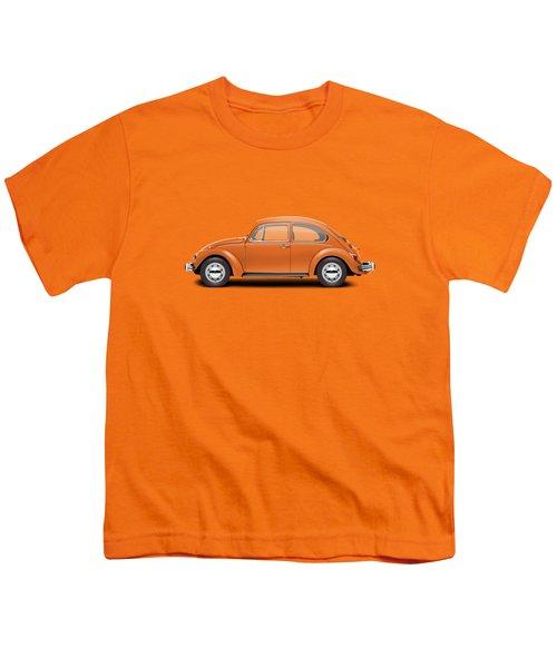 1974 Volkswagen Beetle - Bright Orange Youth T-Shirt