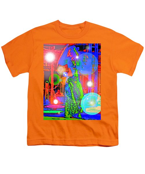 Belly Dance Youth T-Shirt by Andy Za