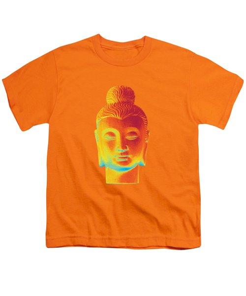colorful Buddha - Gandhara Youth T-Shirt by Terrell Kaucher