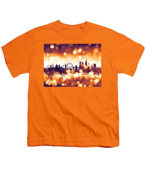 London England Skyline Youth T-Shirt
