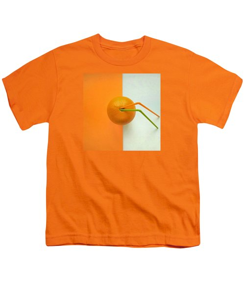 Orange Youth T-Shirt by Ann Foo