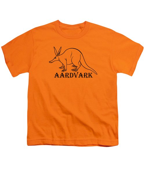 Aardvark Youth T-Shirt by Sarah Greenwell