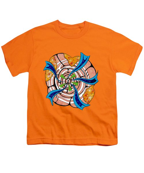 Abstract Digital Art - Ciretta V3 Youth T-Shirt