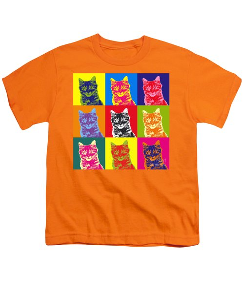 Andy Warhol Cat Youth T-Shirt