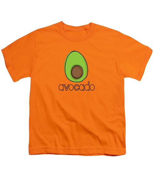 Avocado Youth T-Shirt by Monette Pangan