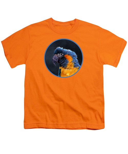 Blue-throated Macaw Profile Youth T-Shirt