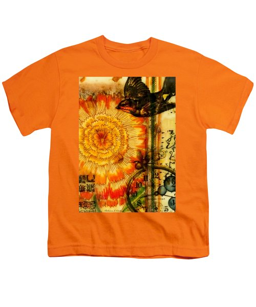Bright Life Encaustic Youth T-Shirt by Bellesouth Studio