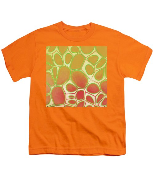 Cells Abstract Five Youth T-Shirt by Edward Fielding