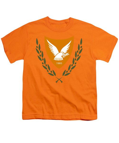 Cyprus Coat Of Arms Youth T-Shirt