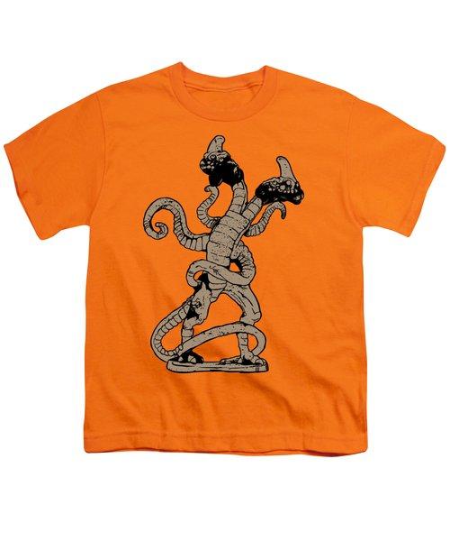 Demogorgon Stranger Things Digital Version Youth T-Shirt
