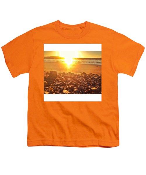 Down The Beach #beach Youth T-Shirt