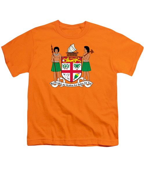 Fiji Coat Of Arms Youth T-Shirt