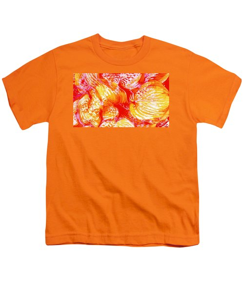 Flaming Hosta Youth T-Shirt