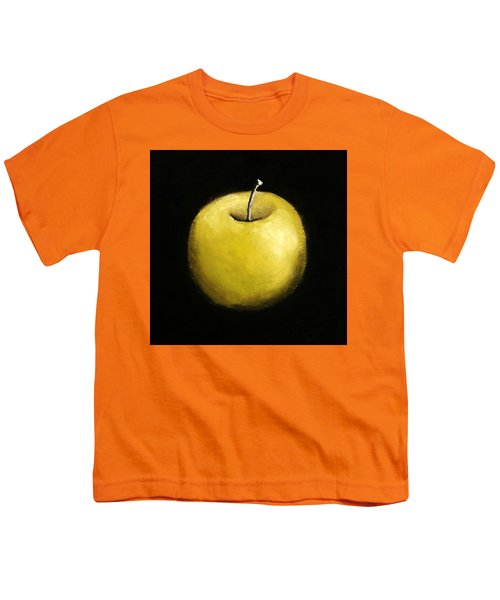 Green Apple Still Life 2.0 Youth T-Shirt by Michelle Calkins