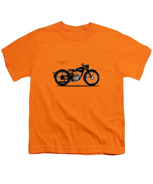 Harley-davidson Model S Youth T-Shirt by Mark Rogan