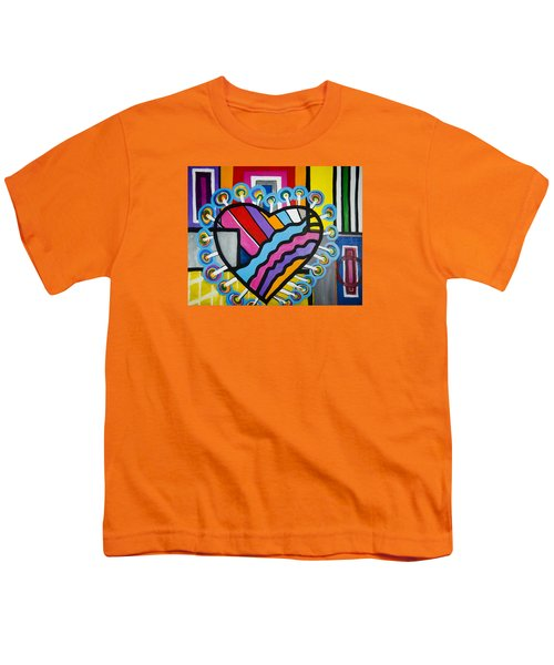 Heart Youth T-Shirt by Jose Rojas