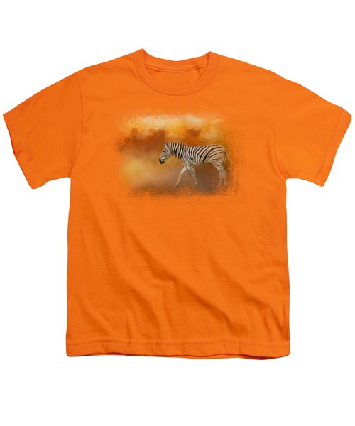 In The Heat Of Summer Youth T-Shirt by Jai Johnson