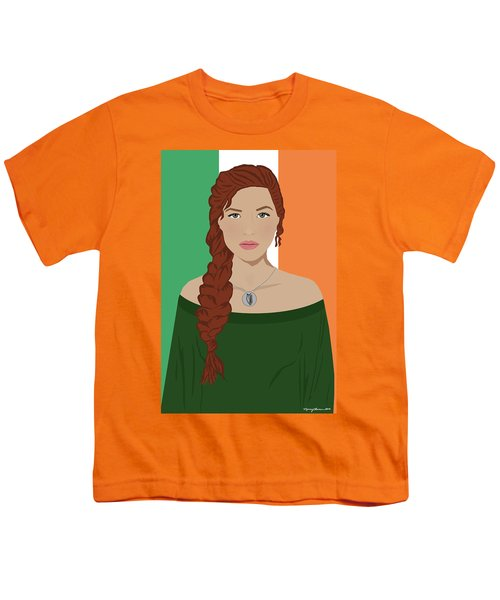 Youth T-Shirt featuring the digital art Ireland by Nancy Levan