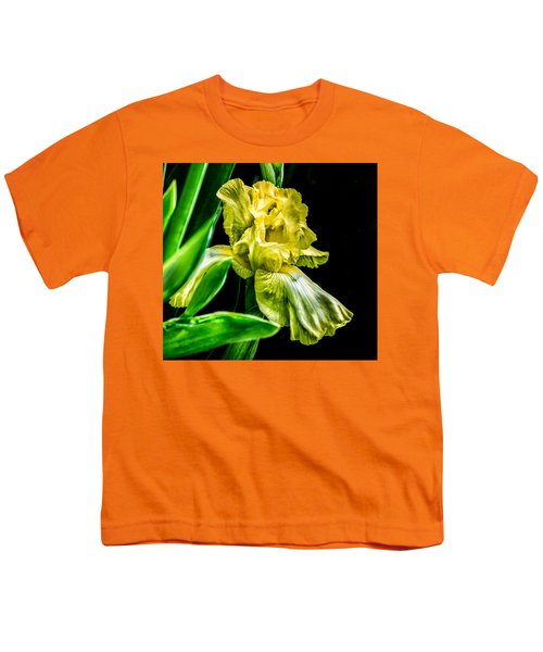 Iris In Bloom Youth T-Shirt