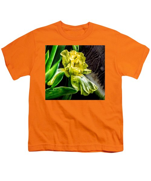 Iris In Bloom Two Youth T-Shirt