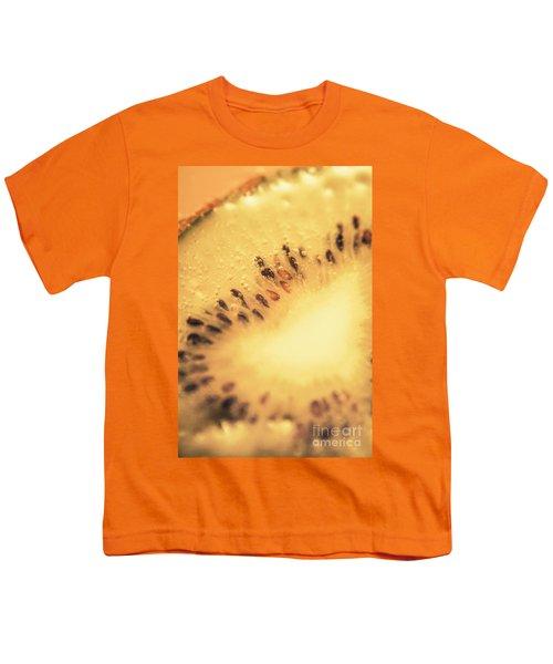 Kiwi Margarita Details Youth T-Shirt by Jorgo Photography - Wall Art Gallery