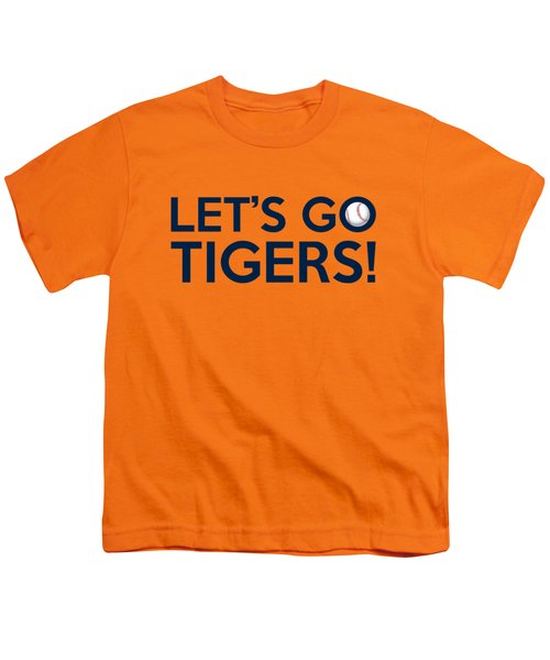 Let's Go Tigers Youth T-Shirt