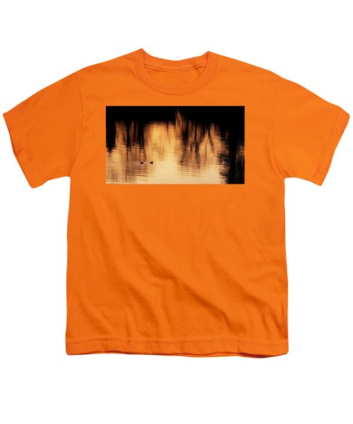 Youth T-Shirt featuring the photograph Morning Ducks 2017 by Bill Wakeley