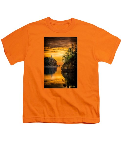 Youth T-Shirt featuring the photograph Morning Glow Against The Light by Rikk Flohr