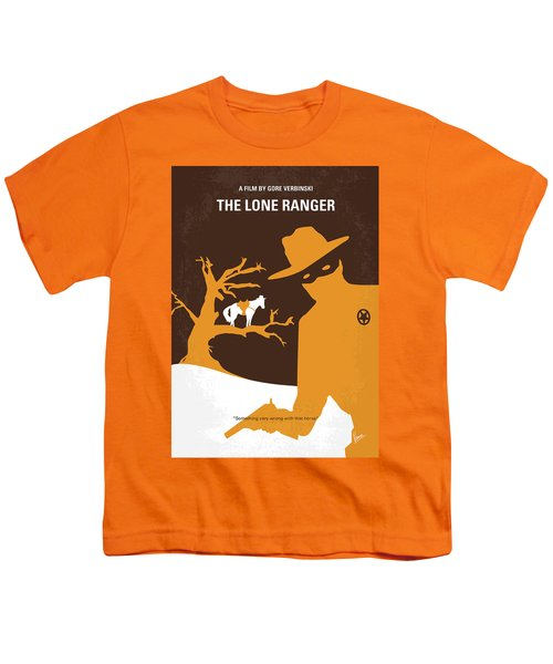 No202 My The Lone Ranger Minimal Movie Poster Youth T-Shirt by Chungkong Art