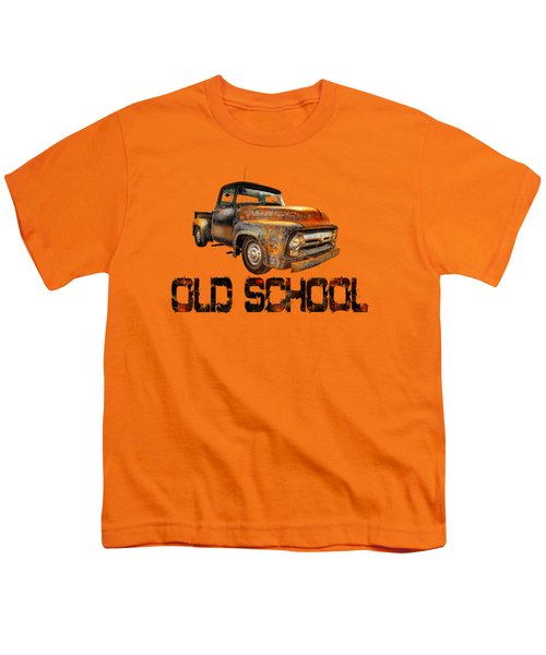 Old Truck Right Attitude Youth T-Shirt