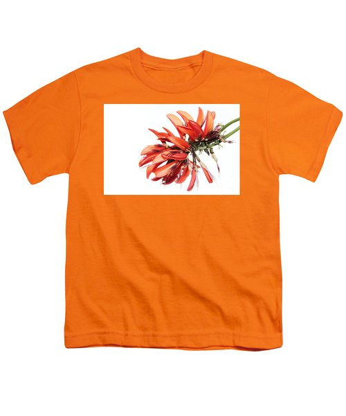 Youth T-Shirt featuring the photograph Orange Clover I by Stephen Mitchell