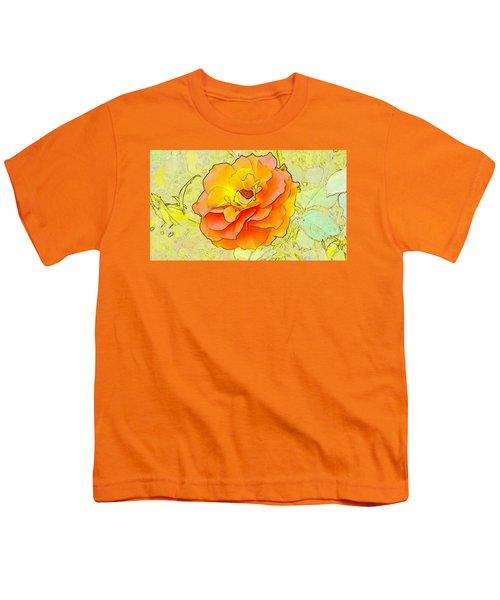 Orange Rose Youth T-Shirt