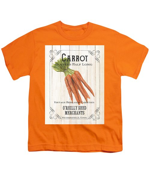 Organic Seed Packet 2 Youth T-Shirt by Debbie DeWitt
