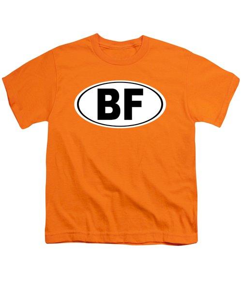 Oval Bf Beaver Falls Pennsylvania Home Pride Youth T-Shirt