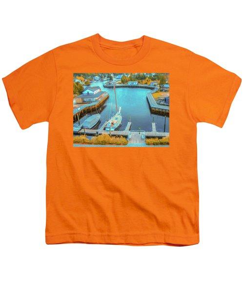 Painterly Tuckerton Seaport Youth T-Shirt