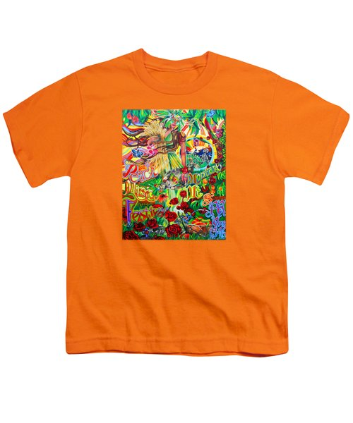 Peach Music Festival 2015 Youth T-Shirt by Kevin J Cooper Artwork