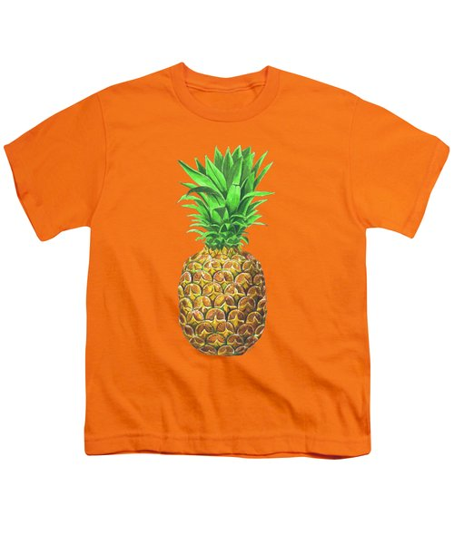 Pineapple, Tropical Fruit Youth T-Shirt