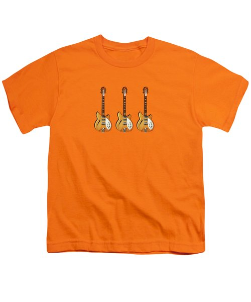 Rickenbacker 360 12 1964 Youth T-Shirt by Mark Rogan