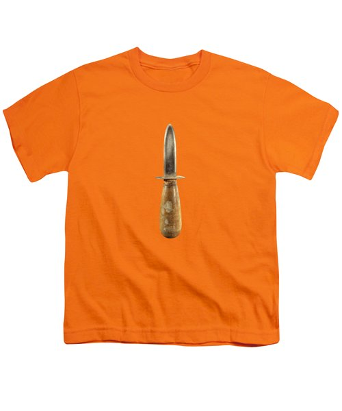 Shorty Knife Youth T-Shirt by YoPedro