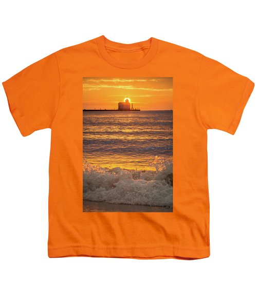 Youth T-Shirt featuring the photograph Splash Of Light by Bill Pevlor