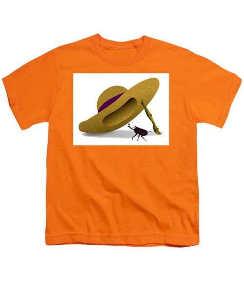 Straw Hat And Horn Beetle Youth T-Shirt