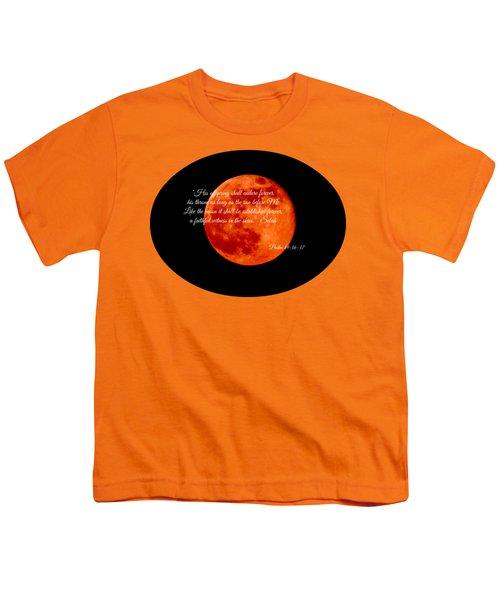 Strawberry Moon Youth T-Shirt by Anita Faye