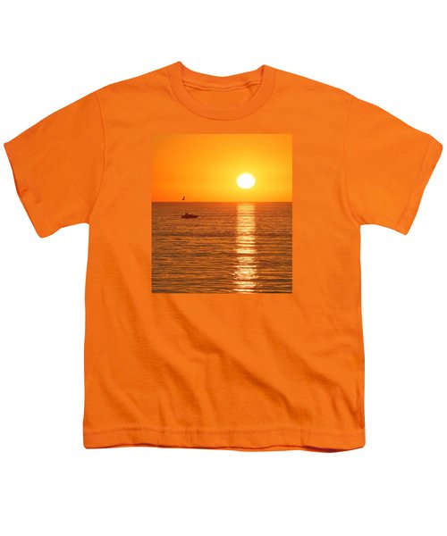 Sunset Solitude Youth T-Shirt