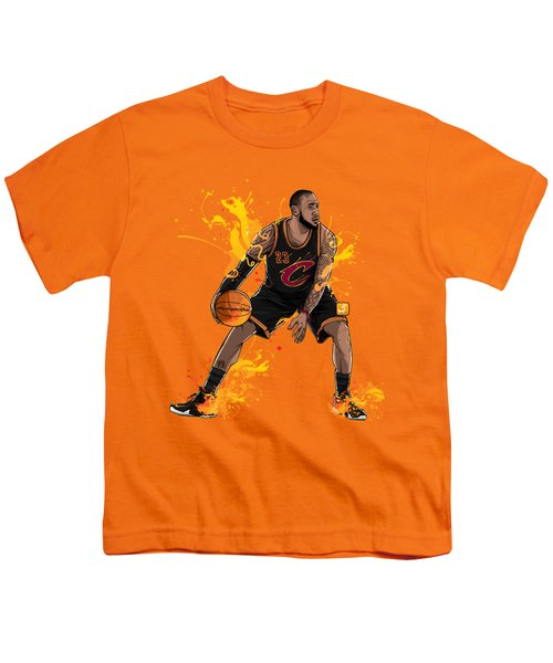 The King James Youth T-Shirt by Akyanyme