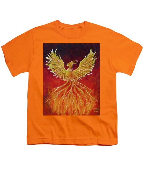 The Phoenix Youth T-Shirt by Teresa Wing