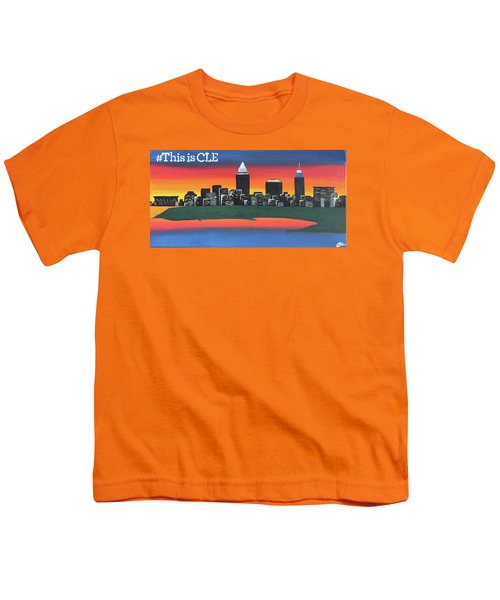 This Is Cle Youth T-Shirt by Cyrionna The Cyerial Artist