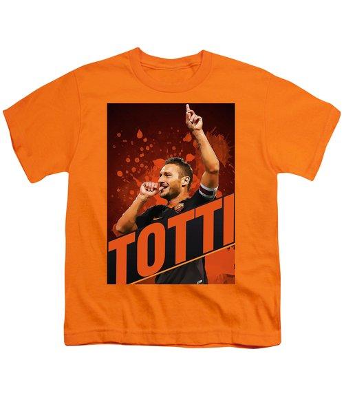 Totti Youth T-Shirt by Semih Yurdabak