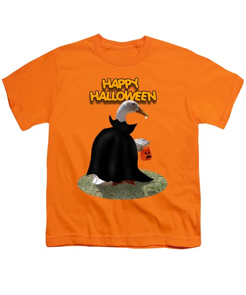 Trick Or Treat For Count Duckula Youth T-Shirt by Gravityx9  Designs