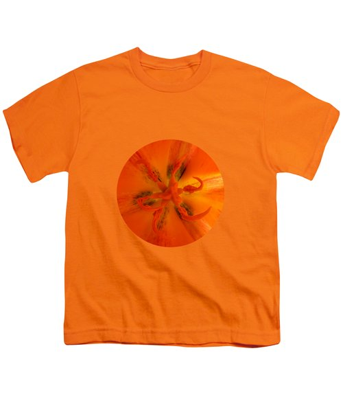 Tulip Center By V.kelly Youth T-Shirt